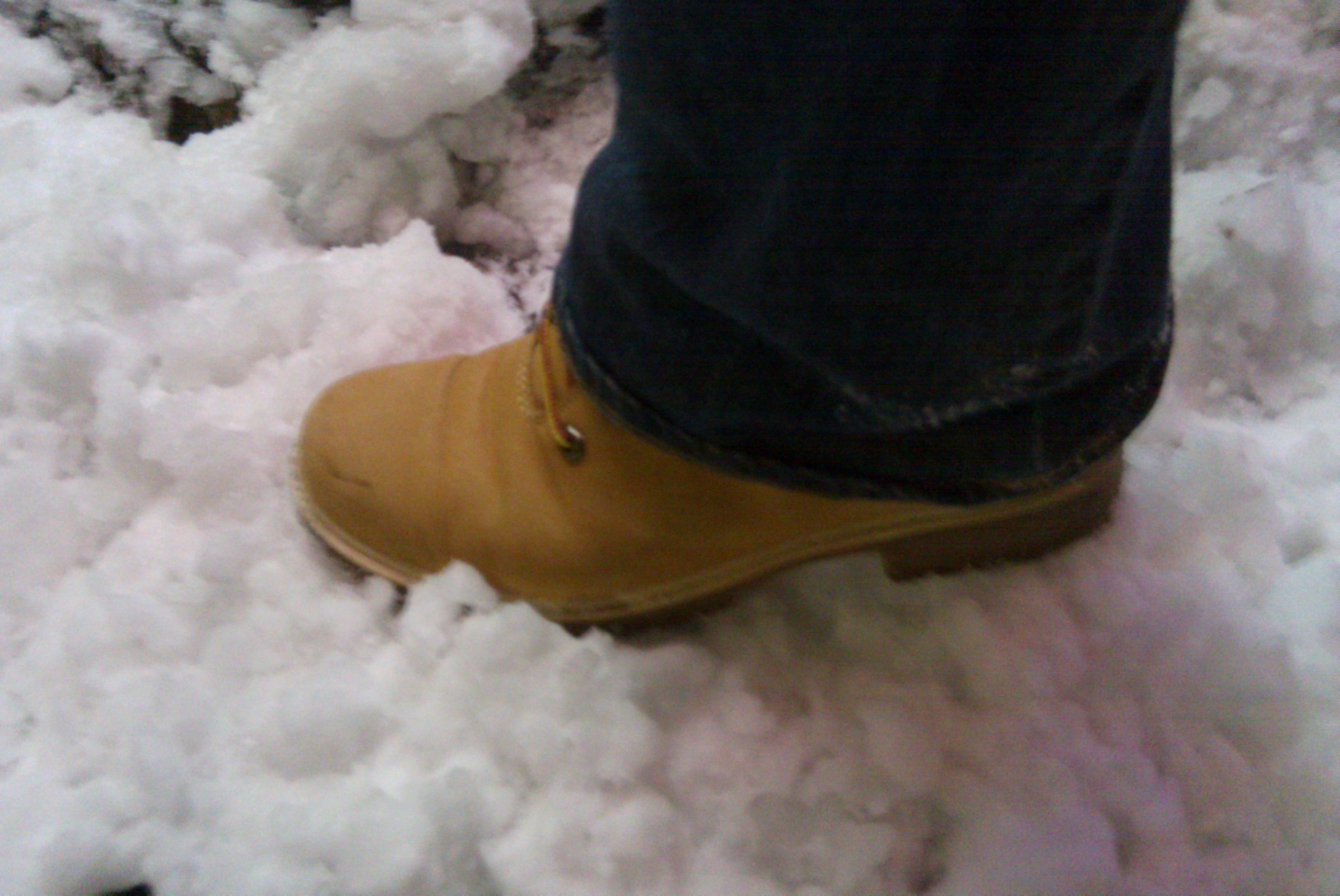 Scarpe: in caso di neve