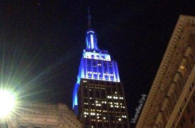 Questo era il blu che si vedeva stasera da nord-ovest