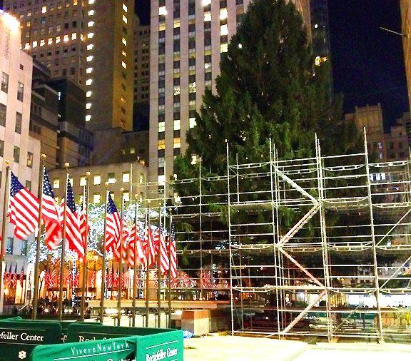 Albero Di Natale New York.L Accensione Dell Albero Del Rockefeller Center