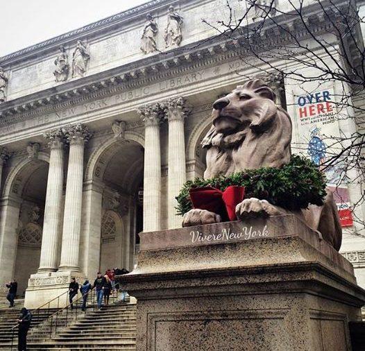 Patience and Fortitudo: Pazienza e Coraggio, i leoni davanti alla Biblioteca Pubblica di Bryant Park