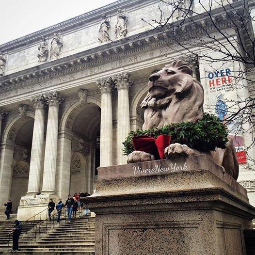 Patience and Fortitude: Pazienza e Coraggio, i leoni davanti alla Biblioteca Pubblica di Bryant Park
