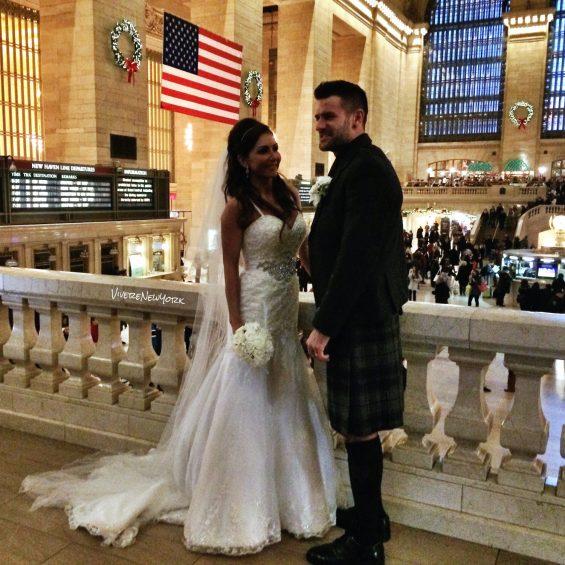 scozzesi in viaggio di nozze a Grand Central