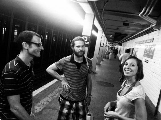 Luca, Lorenzo ed io, qualche anno fa :-) NYC