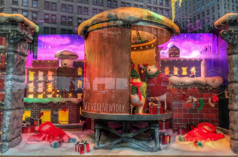 Vetrine Di Natale A New York.La Magia Delle Vetrine Di New York Durante Le Feste Natalizie